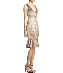 cypress velvet sheath dress