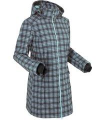 giacca funzionale in softshell con pellicciotto (blu) - bpc bonprix collection