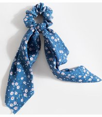 elore ditsy floral pony scarf - blue
