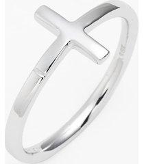 women's bony levy 14k gold cross ring (nordstrom exclusive)