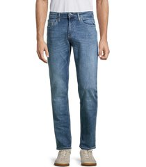 buffalo david bitton men's ash-x slim stretch-fit jeans - washed out - size 29 32