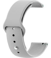 correa clásica para smartwatch reloj inteligente marca cubitt gris claro