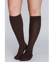 lane bryant women's compression socks onesz chocolate truffle