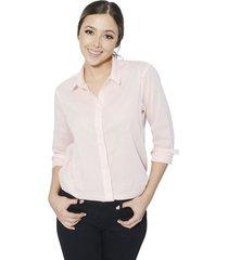 camisa sophia para mujer - rosado