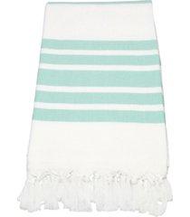 linum home herringbone pestemal beach towel bedding