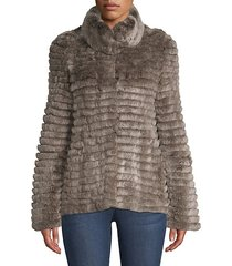 lamb fur baseball jacket