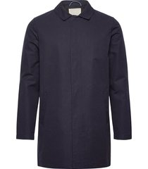 funtional carcoat jacket - gots/veg trench coat rock blå knowledge cotton apparel