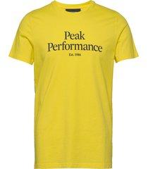 m original tee t-shirts short-sleeved gul peak performance
