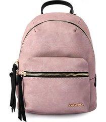 mochila rosa amphora mochina