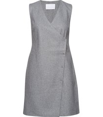 2nd edera korte jurk grijs 2ndday