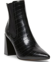 steven new york nico flared-heel chelsea booties