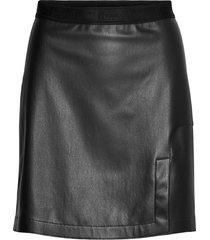 estelle shine skirt kort kjol svart wolford
