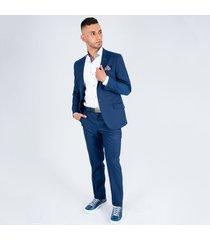 traje formal linea colombia para hombre pierre d' agostiny azul