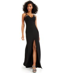 bcx juniors' embellished empire gown