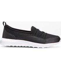 sneaker con youfoam (nero) - bpc bonprix collection