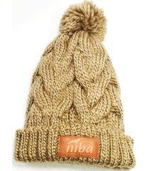 gorro de lana yacal café niba