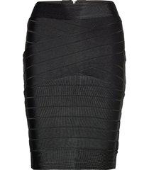 zasha spotlight knts pncl skrt knälång kjol svart french connection