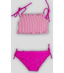 bikini fucsia caracolores