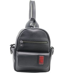 mochila negra leblu chica