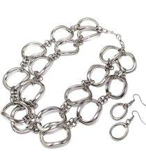 collar de cadena gruesa doble