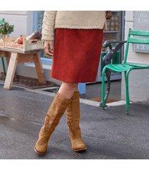 phoebe suede skirt
