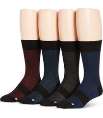 perry ellis men's 4-pk soft luxury socks