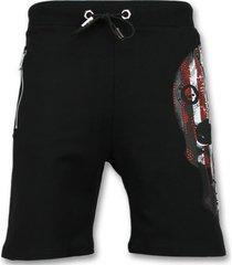 korte broek enos amerikaanse vlag korte broek - shorts -