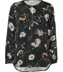 blouse long-sleeve blouse lange mouwen groen gerry weber