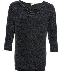 maglia in lurex (nero) - bodyflirt