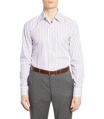 men's boss slim fit stripe dress shirt