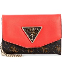 billetera maddy slg double date sg729139 para mujer guess - chocolate