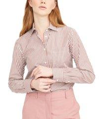 weekend max mara arpa cotton striped shirt
