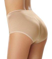 panty clásico de control moderado en abdomen - panty beige leonisa