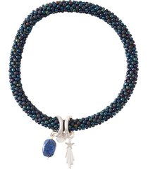 jacky multi color lapis lazuli bracelet