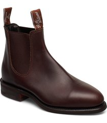 macquarie shoes chelsea boots brun r.m. williams