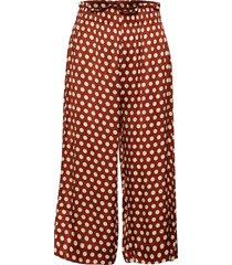 spotty hw trousers vida byxor brun second female