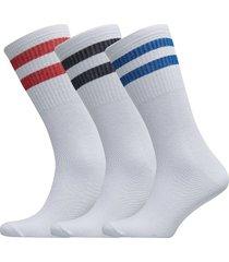 3 pack striped sports sock underwear socks regular socks vit boozt merchandise