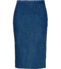 gonna di jeans a tubino (blu) - bpc selection