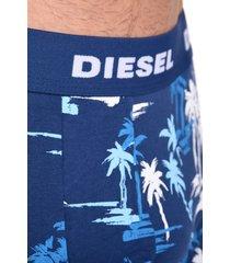 diesel boxershort 2-pak shawn print blauw