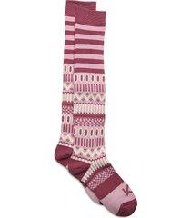 åkle sock lingerie socks knee high socks lila kari traa