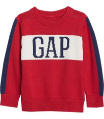 chaleco logo boy rojo gap