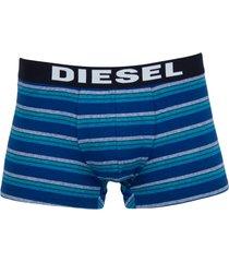 diesel boxershorts shawn 3-pak stripe blue