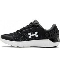 tenis negro under armour gs charged rogue 2 mujer
