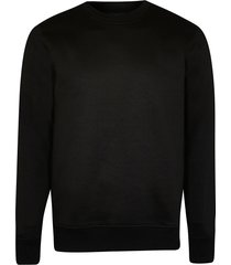 river island mens black premium slim fit sweatshirt