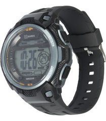 relógio digital x games xmppd570 - masculino - preto