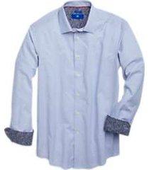 egara sky blue dot sport shirt