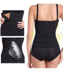 corsetto elastico respirabile bodyshaper modellante shapewear con spalline