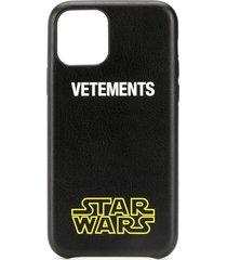 vetements x star wars logo iphone 11 case