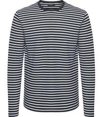 claude stripe sweat blouse