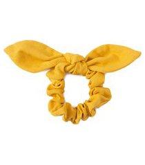 elástico de cabelo claire - amarelo